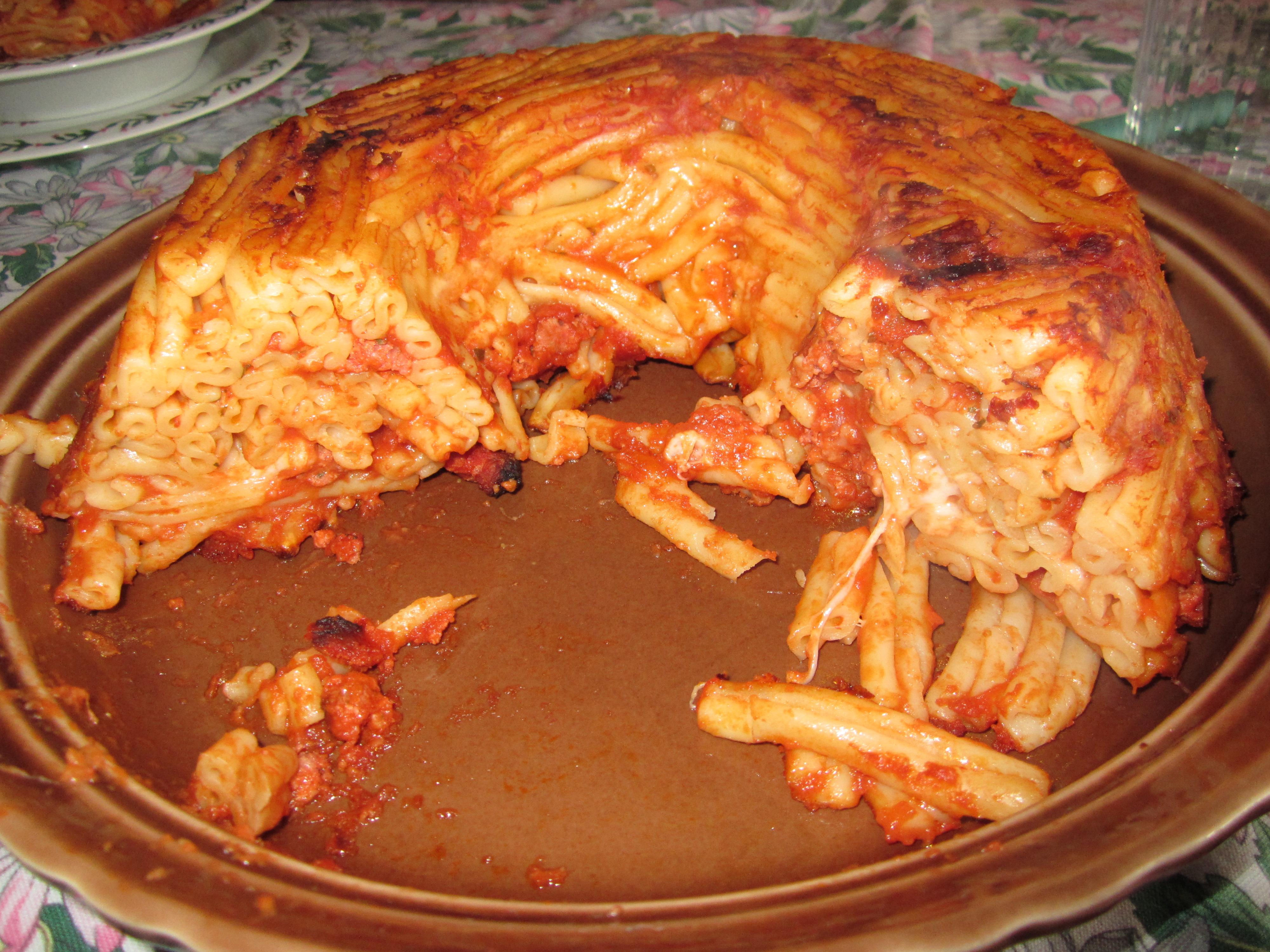 Ricette sformati di pasta