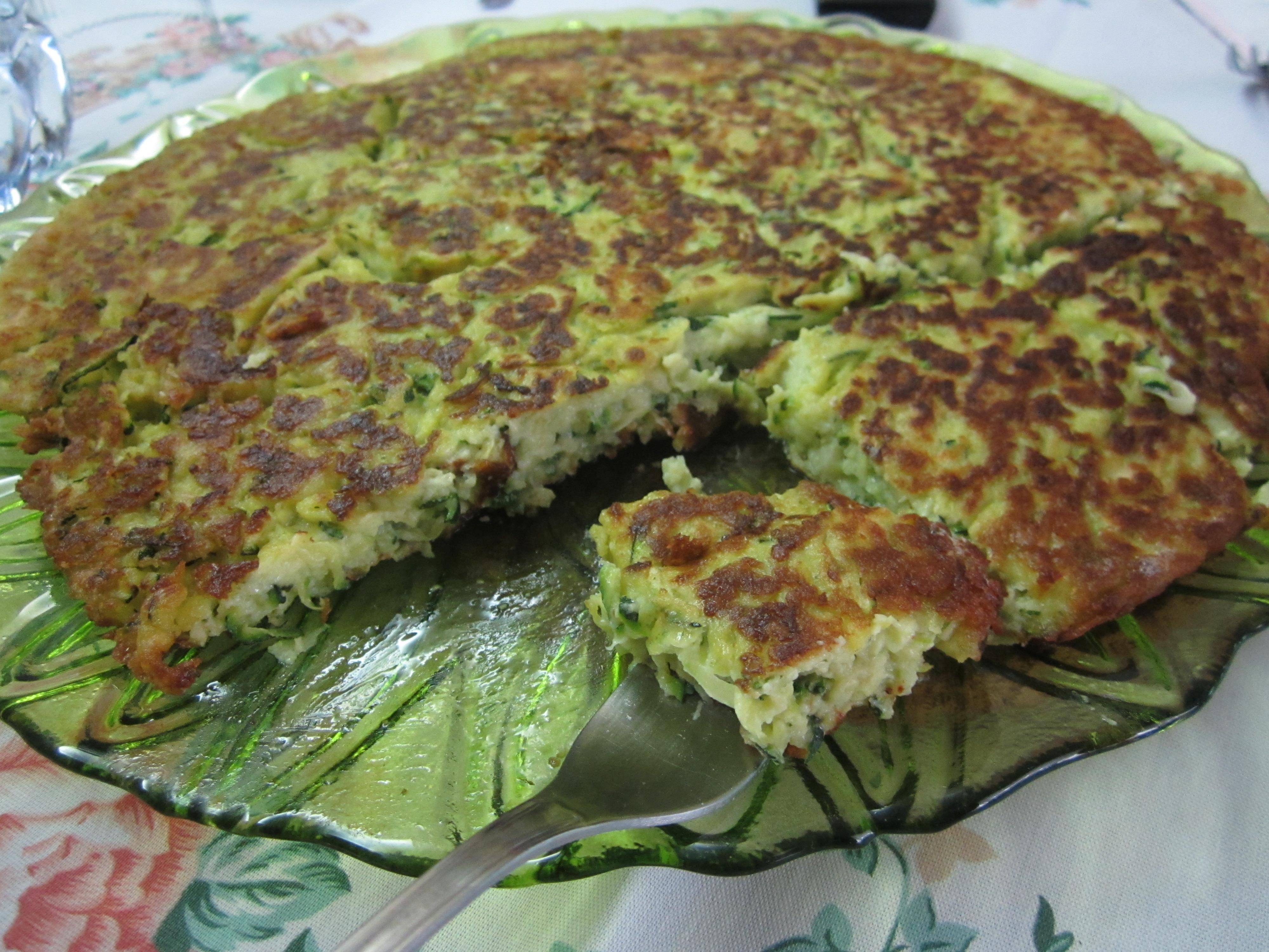 Frittata di zucchine le meraviglie di cicettale for Cucinare zucchine in padella