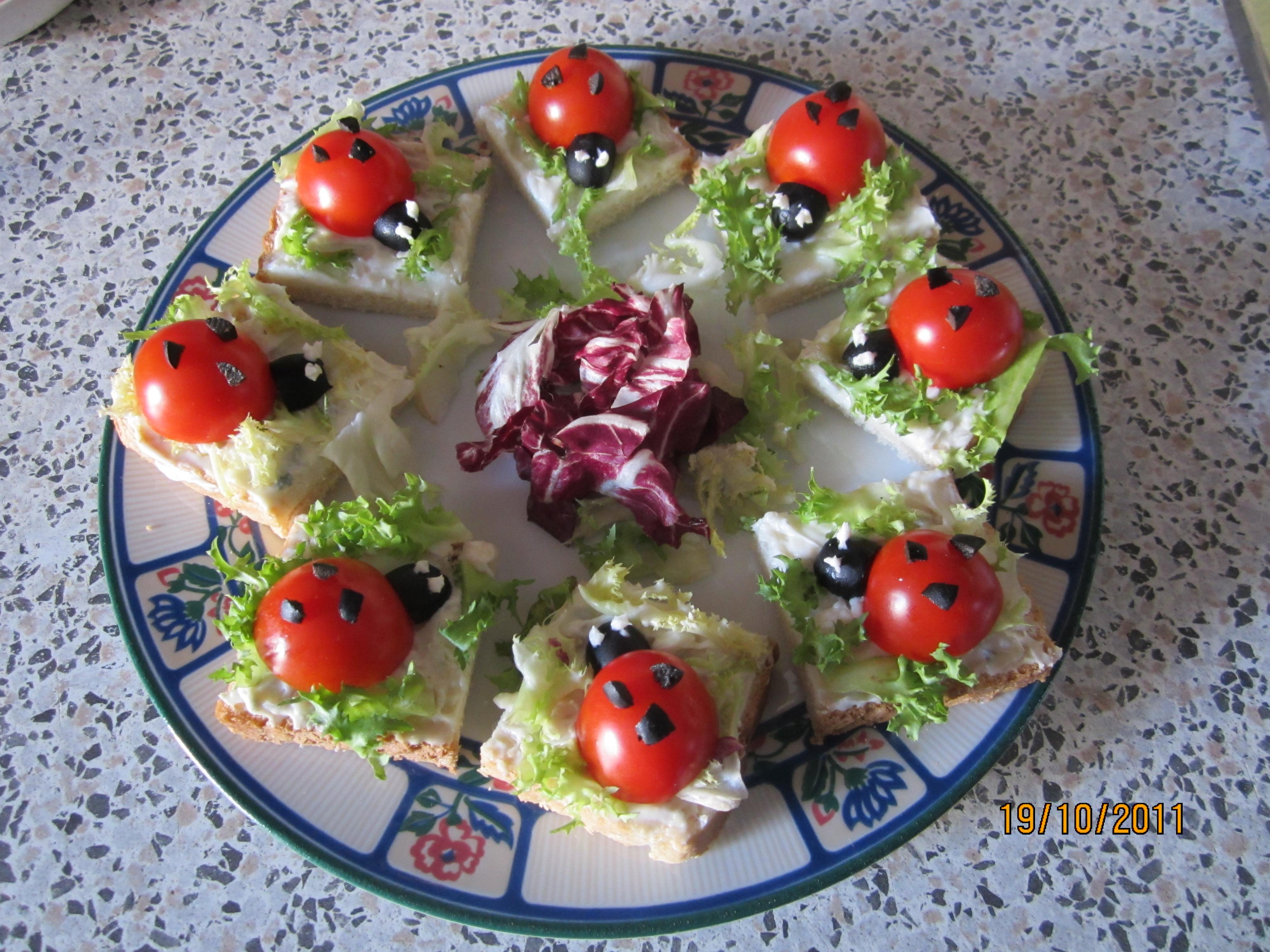 Come decorare piatti di verdure e non solo le - Piatti di frutta decorati ...