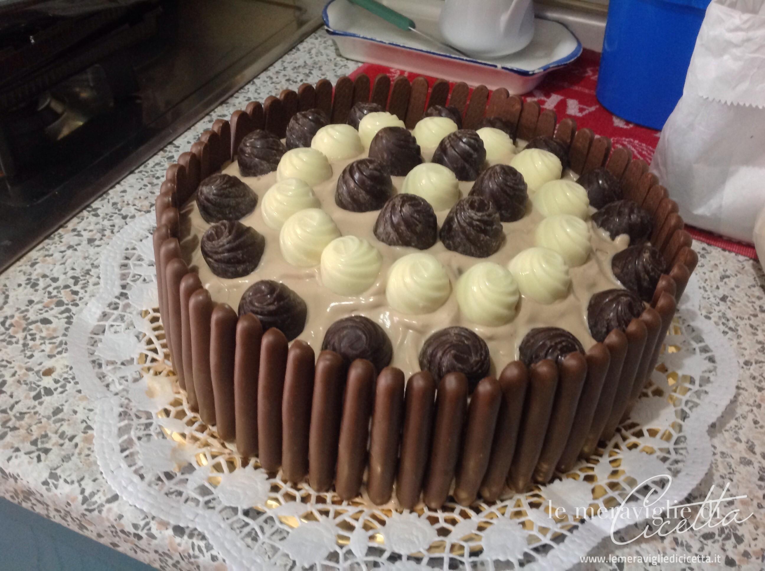 Conosciuto Torta al cioccolato bis - Le Meraviglie di CicettaLe Meraviglie di  WV19