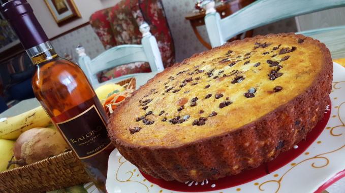 torta alla ricotta e cioccolato